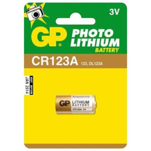 Lithium CR123A 3V