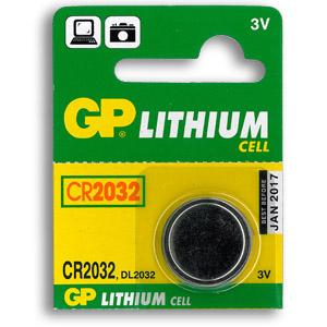 CR2032 3V Lithium knapcelle Batteri