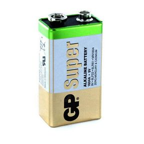 Alkaline batteri - GP Super - 9V - 6LF22
